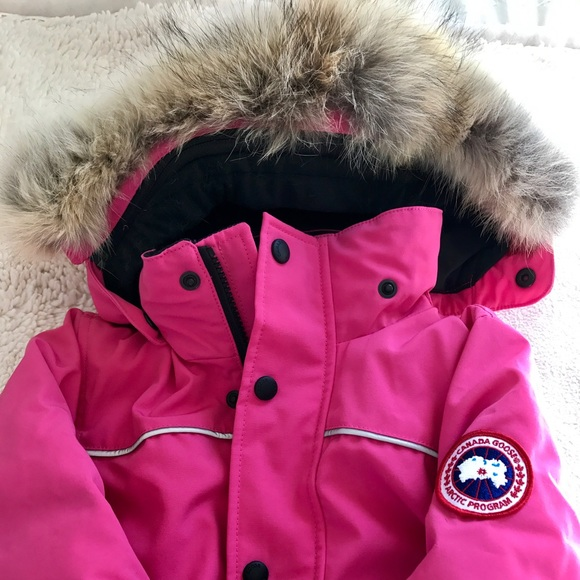 92f5ed3af Canada Goose Jackets & Coats | Nwt Grizzly Snowsuit 4t 5t Girls ...